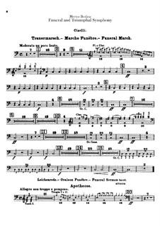 Большая траурно-триумфальная симфония, H.80 Op.15: Партия тарелок by Гектор Берлиоз