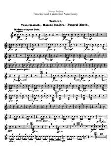 Большая траурно-триумфальная симфония, H.80 Op.15: Партии малых барабанов by Гектор Берлиоз