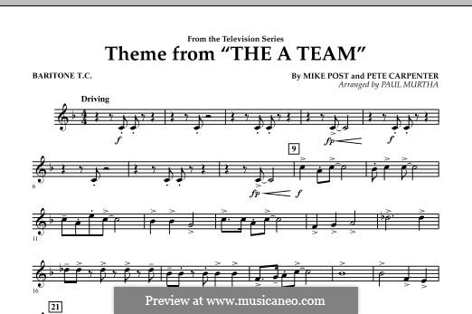 Theme from The 'A' Team: Baritone T.C. part by Pete Carpenter