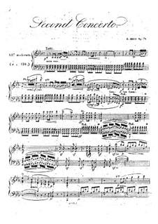Концерт для фортепиано с оркестром No.2 до минор, Op.74: Концерт для фортепиано с оркестром No.2 до минор by Анри Герц