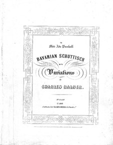 Bavarian Schottisch with Variations: Bavarian Schottisch with Variations by Charles Balmer