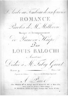 Песнь араба над могилою коня: Песнь араба над могилою коня by Luigi Balocchi
