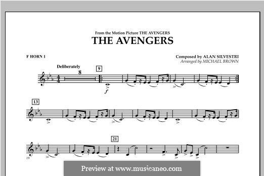 The Avengers: F Horn 1 part by Alan Silvestri