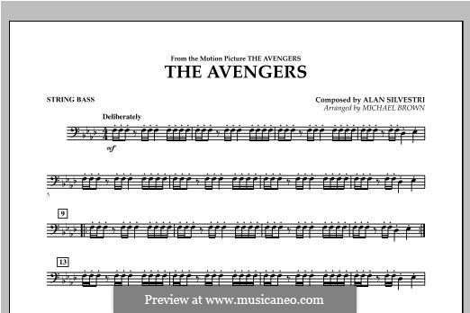 The Avengers: String Bass part by Alan Silvestri