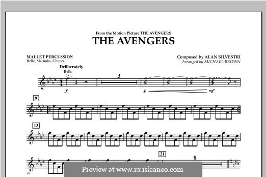 The Avengers: Mallet Percussion part by Alan Silvestri