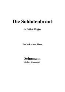 Романсы и баллады, Op.64: No.1 Die Soldntenbraut (D flat Major) by Роберт Шуман