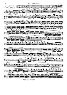 Струнное трио фа мажор, Op.96: Партия виолончели by Франц Кроммер