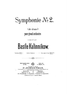 Симфония No.2 ля мажор: Симфония No.2 ля мажор by Василий Калинников