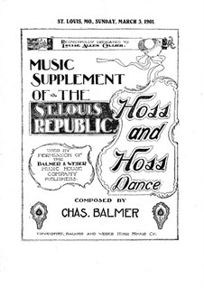 Hoss and Hoss Dance: Hoss and Hoss Dance by Charles Balmer