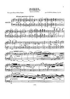 Фантазия на темы из оперы 'Норма' Беллини, Op.58: Партия органа by Фредерик Бриссон