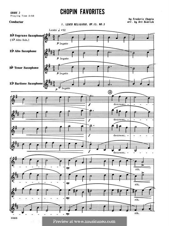 Chopin Favorites: Партитура by Фредерик Шопен