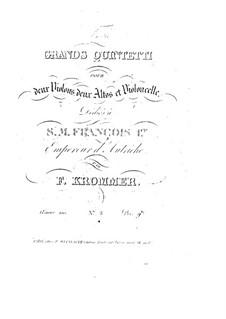 Струнный квинтет ре минор, Op.100: Струнный квинтет ре минор by Франц Кроммер