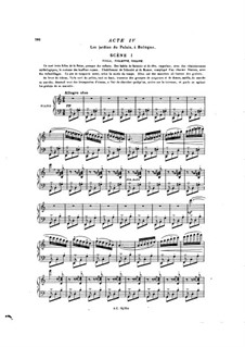 La reine Fiammette: Acts IV-V, for soloists, choir and piano by Ксавье Леру