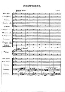 Фантазия на темы из увертюры 'Афинские развалины' Бетховена, S.122: Фантазия на темы из увертюры 'Афинские развалины' Бетховена by Франц Лист