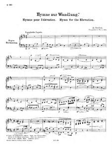 Hymne pour l'élévation (Hymn for Elevation), H.100: Hymne pour l'élévation (Hymn for Elevation) by Гектор Берлиоз