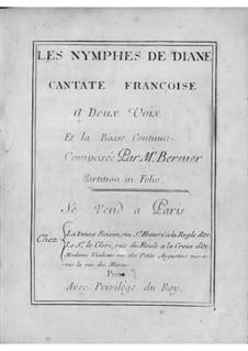 Les nymphes de Diane: Les nymphes de Diane by Nicolas Bernier