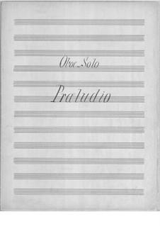 Прелюдия для гобоя и струнного оркестра: Партии by Axel Gade
