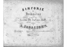 Симфония No.1 до мажор, Op.24: Симфония No.1 до мажор by Саломон Ядассон