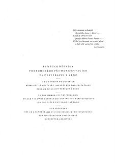Соната для фортепиано 'I. X.1905, С улицы', JW 8/19: Соната для фортепиано 'I. X.1905, С улицы' by Леош Яначек