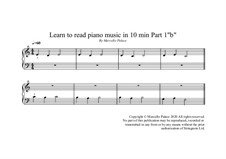 Learn Piano Playing Piano: Part 1b by Marcello Palace
