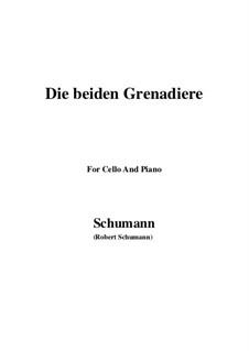 Романсы и баллады, Op.49: No.1 Two Grenadiers, for Cello and Piano by Роберт Шуман