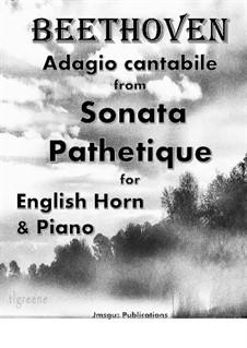 Часть II: For English Horn & Piano by Людвиг ван Бетховен