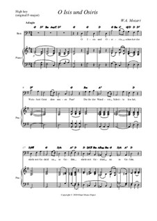 O, Исида и Осирис: High edition by Вольфганг Амадей Моцарт
