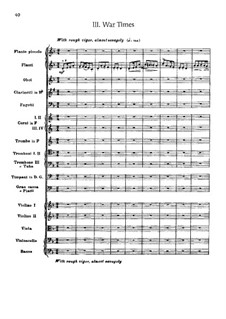 Сюита для оркестра No.2 'Indian', Op.48: Часть III 'War Times' by Эдвард Макдоуэлл