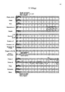 Сюита для оркестра No.2 'Indian', Op.48: Часть V 'Village' by Эдвард Макдоуэлл