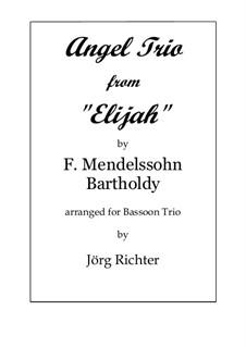 Илия, Op.70: Angel Trio, for Bassoon Trio by Феликс Мендельсон-Бартольди