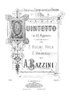 Струнный квинтет ля мажор: Скрипка I by Антонио Бадзини