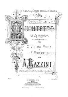 Струнный квинтет ля мажор: Скрипка II by Антонио Бадзини