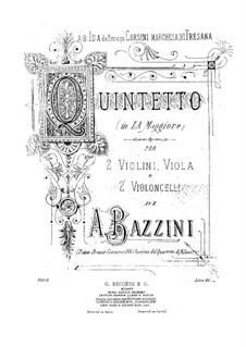 Струнный квинтет ля мажор: Партия альта by Антонио Бадзини