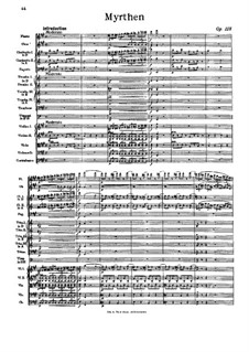 Myrthen, Op.118: Myrthen by Иоганн Штраус (отец)