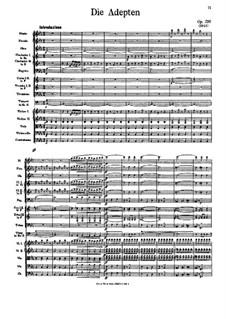 Die Adepten, Op.216: Die Adepten by Иоганн Штраус (отец)
