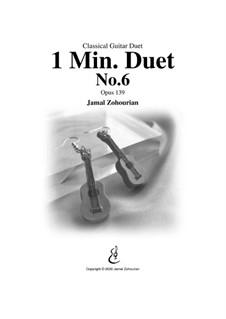 1 Min Duet No.6, Op.139: 1 Min Duet No.6 by Jamal Zohourian