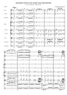 Концерт для флейты, арфы и орекстра до мажор, K.299: Movement 1 by Вольфганг Амадей Моцарт