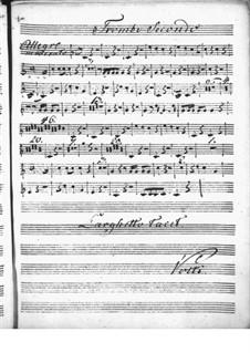 Концерт для клавесина с оркестром ре мажор: Партия II трубы by Никколо Йоммелли