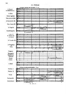 Симфония No.2 си-бемоль минор, Op.66: Часть IV by Сергей Ляпунов