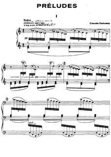 Прелюдии, L.123: No.1 Туманы by Клод Дебюсси