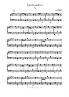 Banjo Breakdown: Banjo Breakdown by folklore