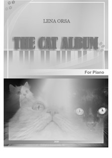 The Cat Album: The Cat Album by Lena Orsa