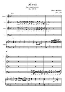 Аллилуйя: Для хора и фортепиано by Дитрих Букстехуде