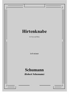 Hirtenknabe: B minor by Роберт Шуман