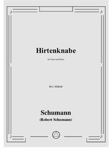 Hirtenknabe: C minor by Роберт Шуман