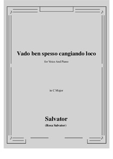 Vado ben spesso cangiando loco: До мажор by Сальватор Роза