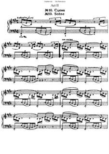 Все части: 2 акт, для фортепиано by Петр Чайковский