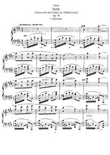Dolly Suite, Op.56: Для фортепиано by Габриэль Форе