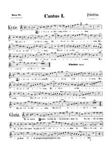 Assumpta est Maria: Soprano I part by Джованни да Палестрина