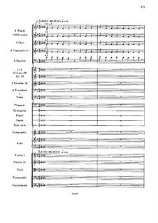 Светлый праздник, Op.36: Партитура by Николай Римский-Корсаков